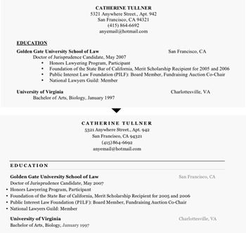 how to improve your resume layout resume layout 2017