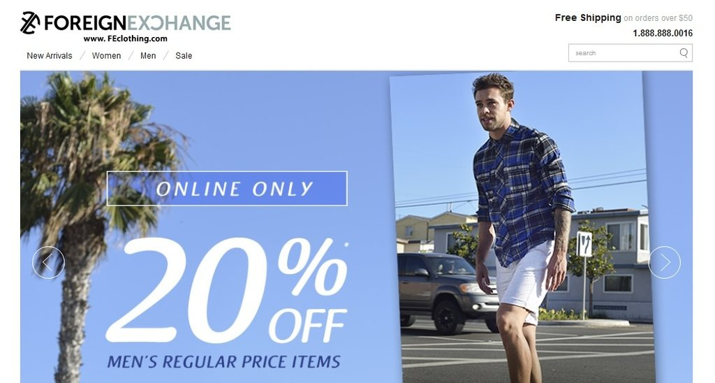 Foreign Exchange is a new clothing company with a mission