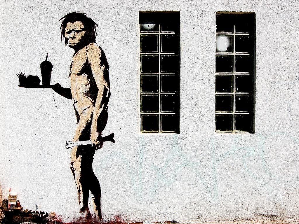 Banksy Apeman