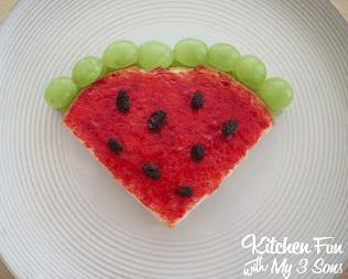 watermelon pbj