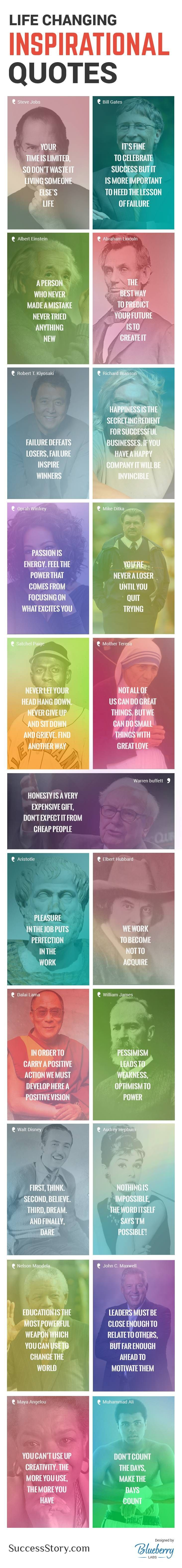 21 Crucial Life Lessons From The Most Successful People