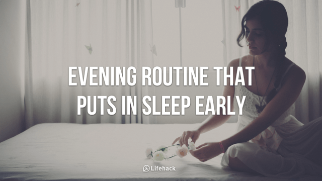 evening routine feature image
