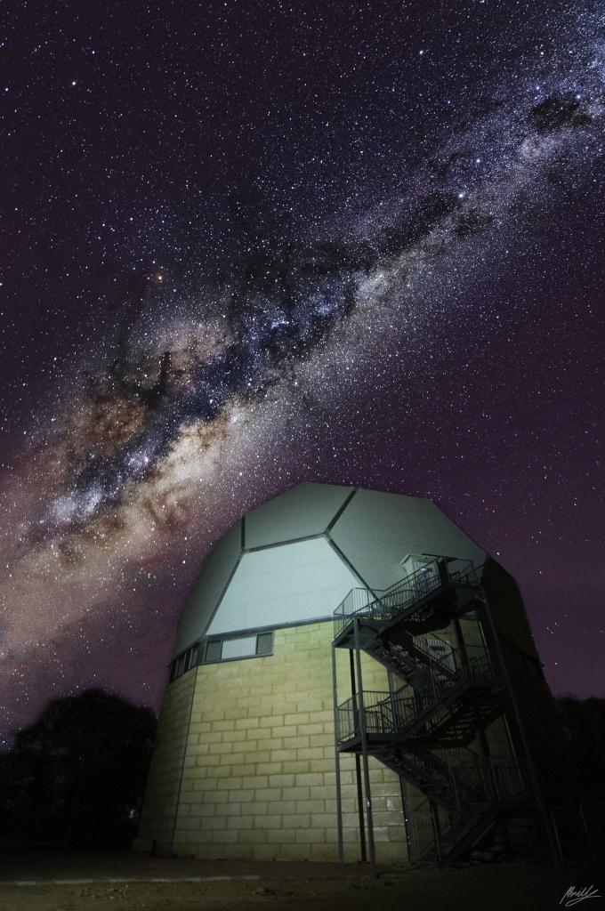 Gingin observatory in Australia.