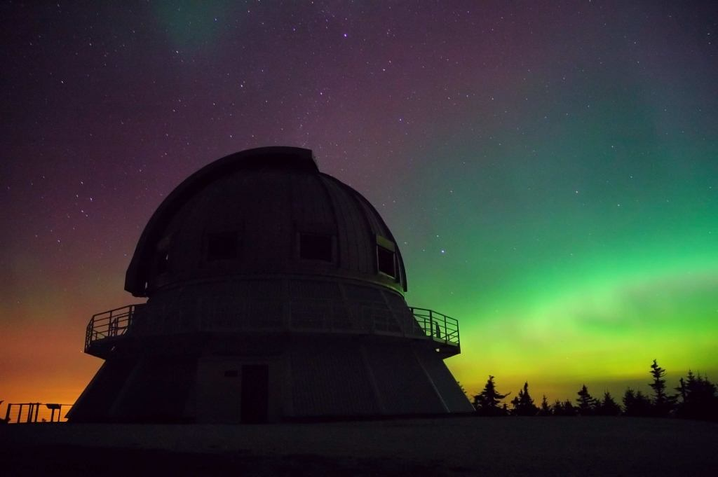 The observatory in Qubec Canada