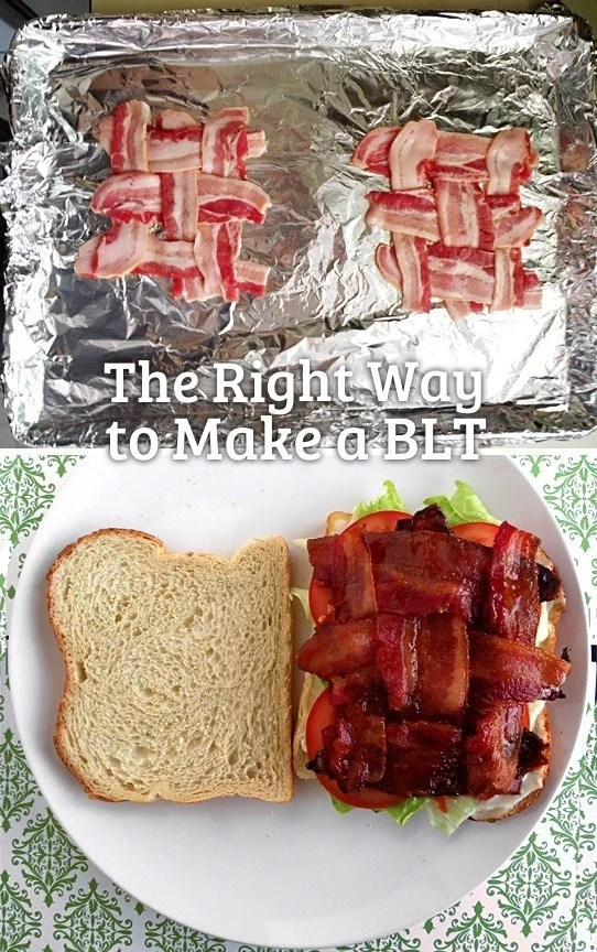 the right way to make a blt