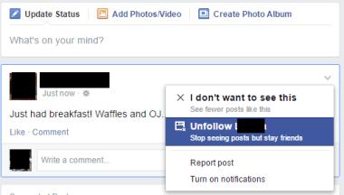 unfollow facebook oversharers