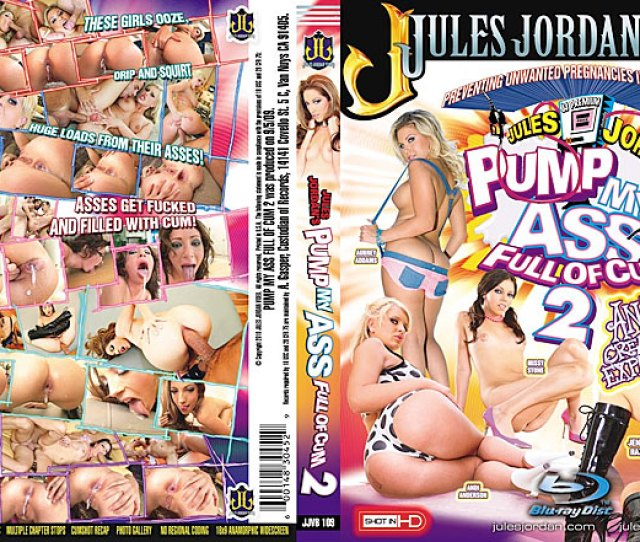Jules Jordan Presents Pump My Ass Full Of Cum 2 Bluray