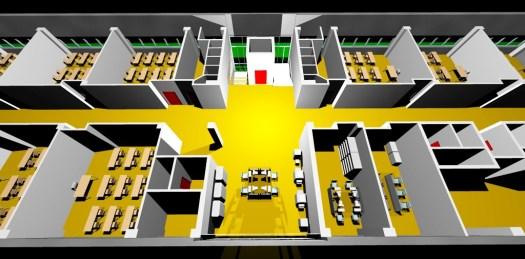 Modellazione dell'edificio scolastico in progetto