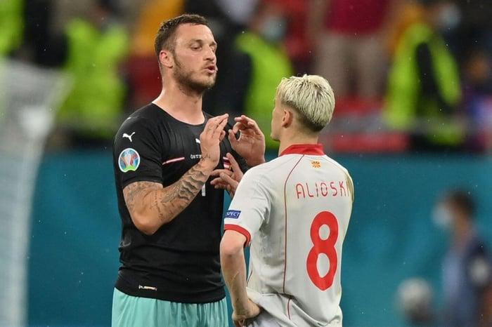 Marko Arnautovic: UEFA investigating remarks during Euro 2020 North  Macedonia game - The Athletic