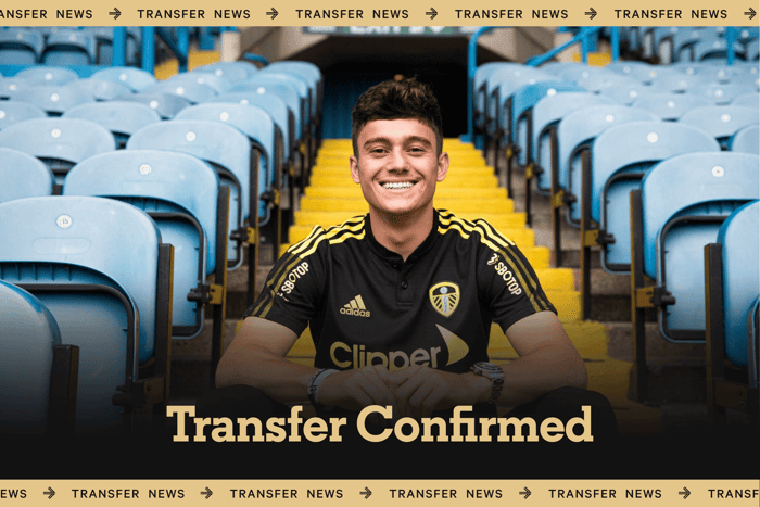 Leeds United confirm signing of Dan James from Manchester United