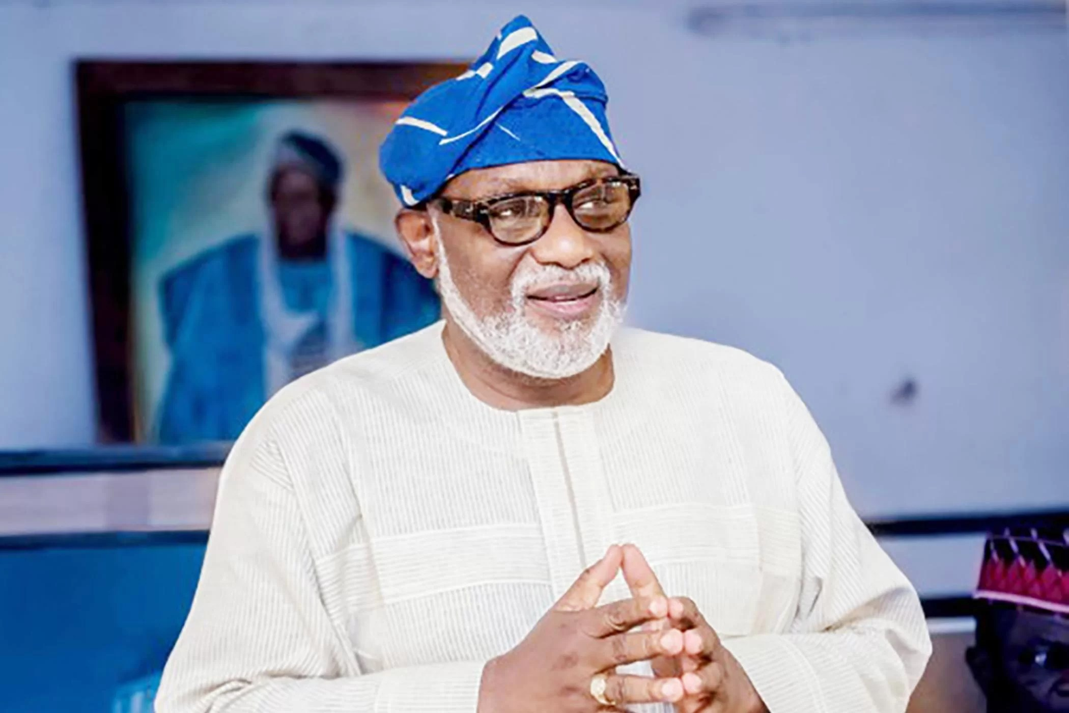 Gov. Rotimi Akeredolu Of Ondo State On Friday Constituted A Nine Member Palliative Committee On Covid 19 To Deliberate And Make Recommendations To The Government On How To Cushion The Harsh Economi
