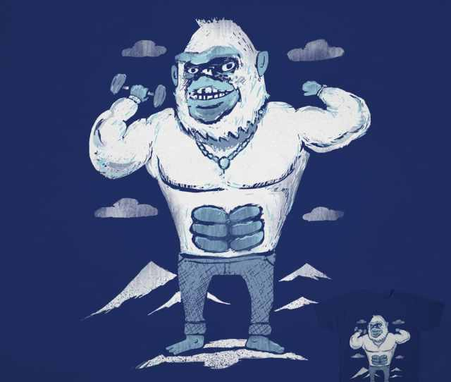 The Abdominal Snowman By Thomas Orrow On Threadless