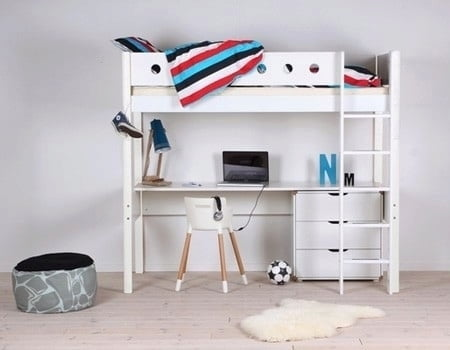 Flexa Desk For White Bunk Bed Interismo Online Shop Global