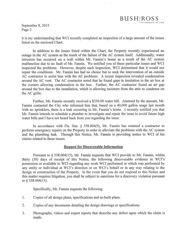WCI Now Lennar Lied In Their Legal Response Why My Lennar Home
