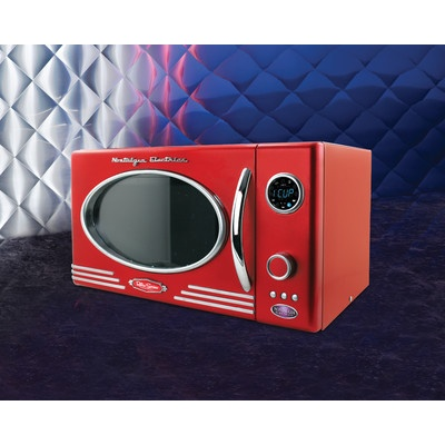 retro series 0 9 cf microwave oven in