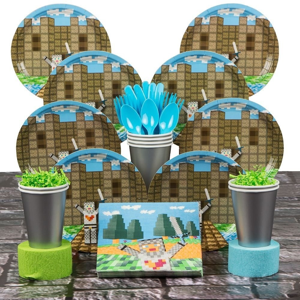 Minecraft Party Supplies By Costume Supercenter Shop Online For Arts Crafts In Mexico