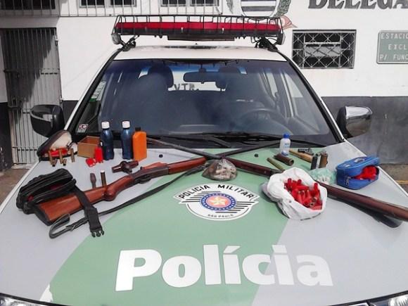 policia-ambiental-prende-individuo-com-arma-de-caca-em-taubate