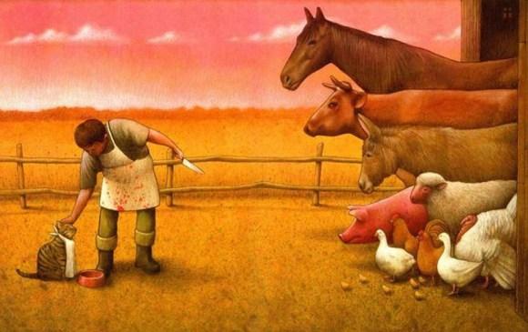 poluindo-a-lingua-violenta-especista-exploratoria-para-descaracterizar-massacres-e-destruicao-animal-ambiental