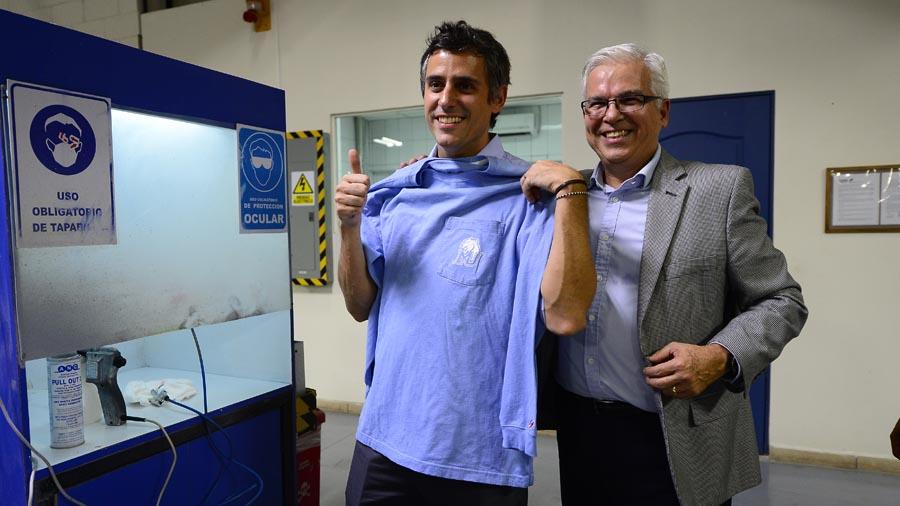 Resultado de imagen para Rodrigo Bolaños, gerente general de la empresa textil League Central América