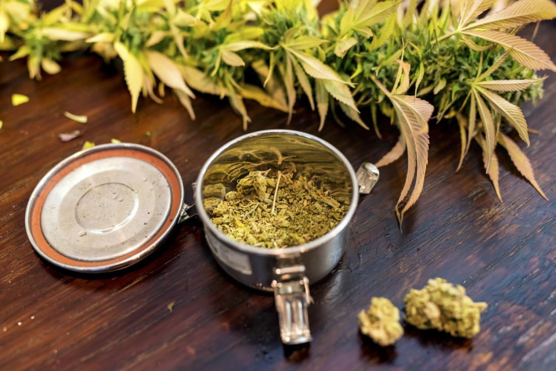 Marijuana and Cannabis.