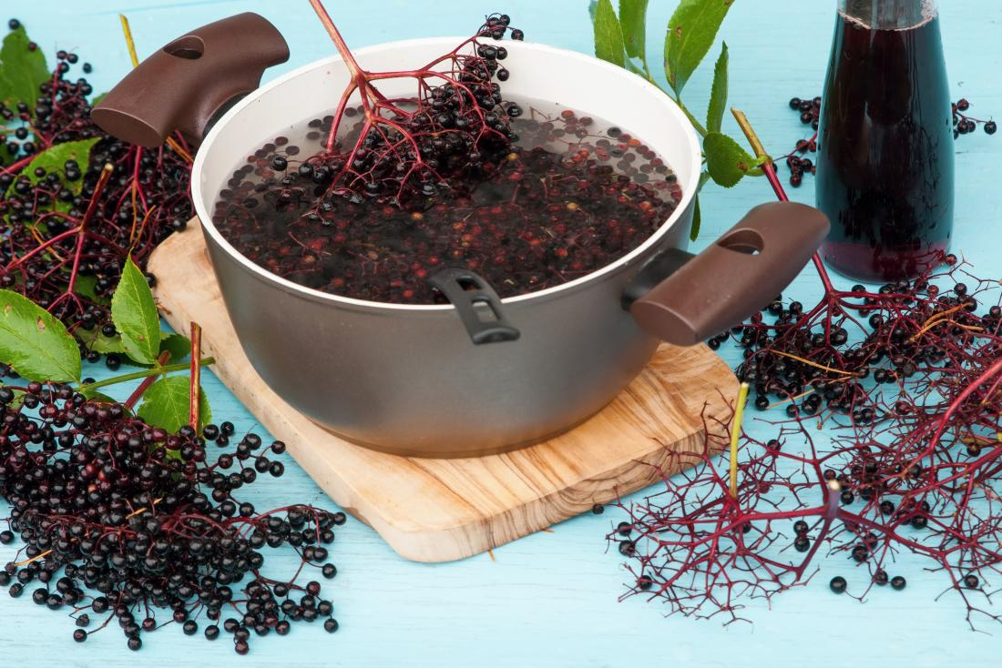 Elderberry Health Benefits Uses And Risks