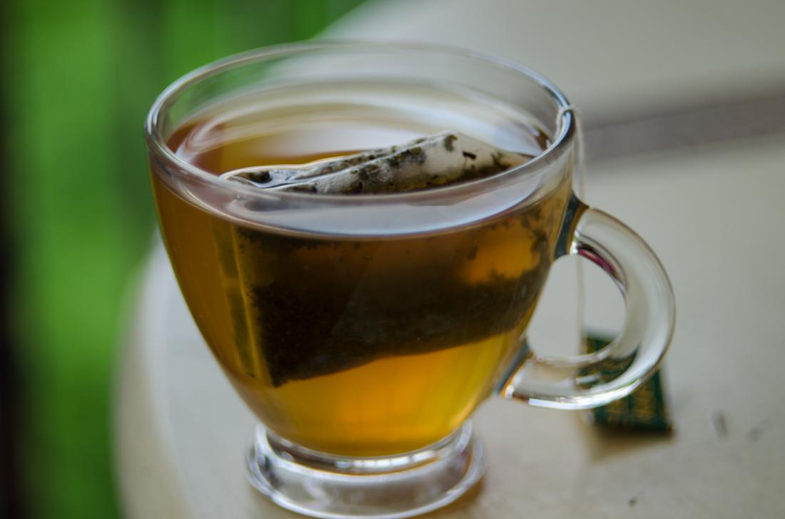 الأطعمة جيدة للشاي الأخضر الكبد