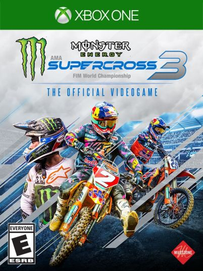 Image result for monster energy supercross 3 xbox one