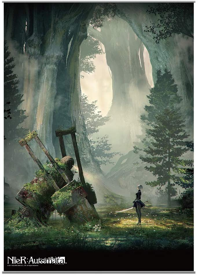 nier automata wall scroll poster vol 2