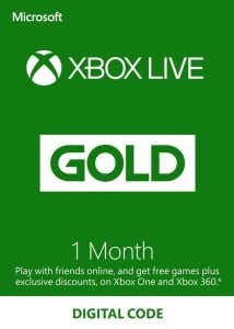 xbox live gold code 1 month cheap xbox gold price eneba