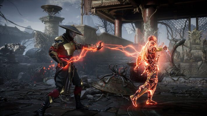 Mortal Kombat 11: Aftermath gameplay RoboCop And Terminator fighting in an epic match