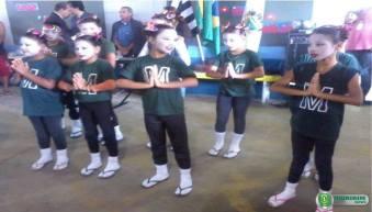 Alunos da rede municipal de ensino se apresentam com dança - Foto: Douglas Castilho/Quiririm News