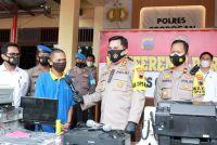 Pencuri Spesialis Sekolah Kosong di Grobogan Diringkus Polisi