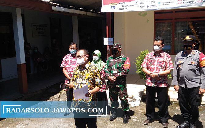 Pemprov Jateng Pantau Lockdown di Dusun Gondang, Boyolali