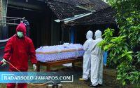 Jumlah Kasus Naik, Tim Pemakaman Covid di Wonogiri Tak Keteteran