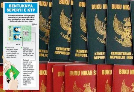Mempelai Baru Di Surabaya Bakal Dapat Surat Nikah Ganda