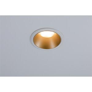 recessed luminaire led cole 3 x 6 5 w 2700 k white gold matt