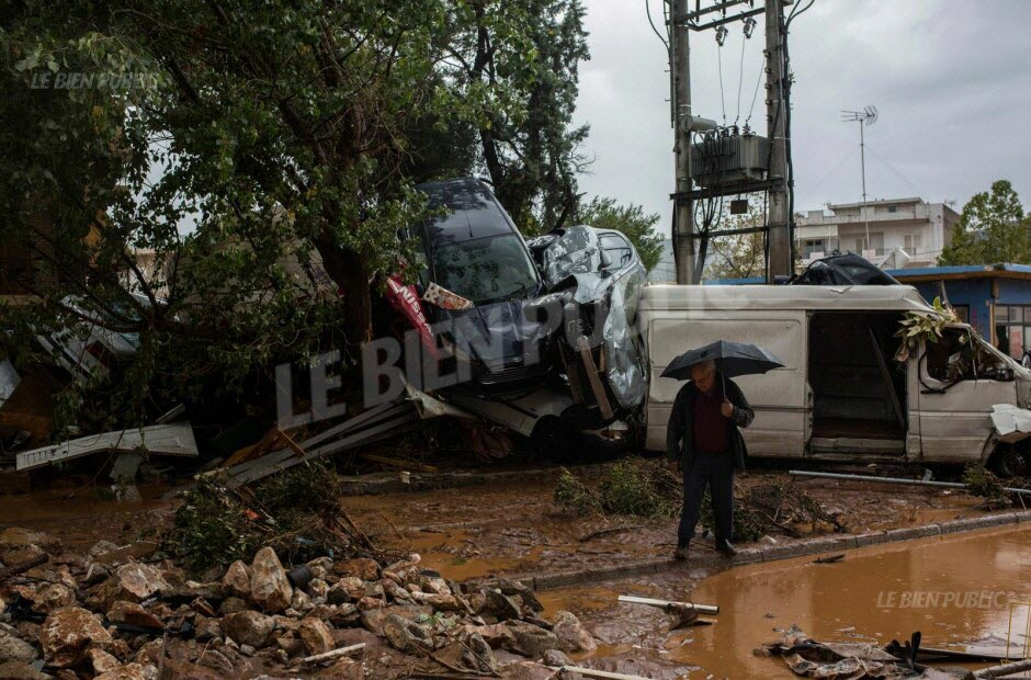 L'électricité a été coupée en plusieurs points de la localité, accueillant, dans un urbanisme erratique, de nombreux ateliers et usines. Photo AFP
