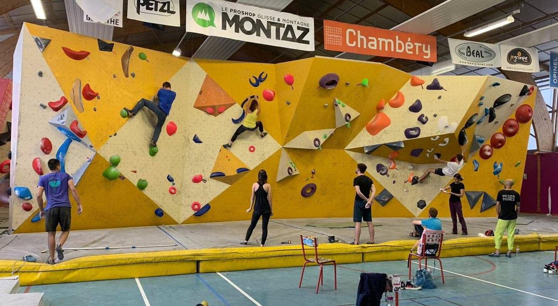 Chambery Chambery Escalade Est Dans Les Starting Blocks Pour La Saison A Venir