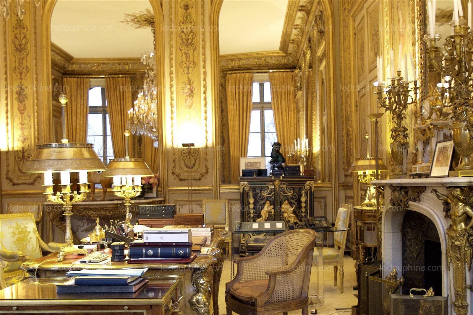 FranceMonde Dans Lintimit Du Palais De LElyse