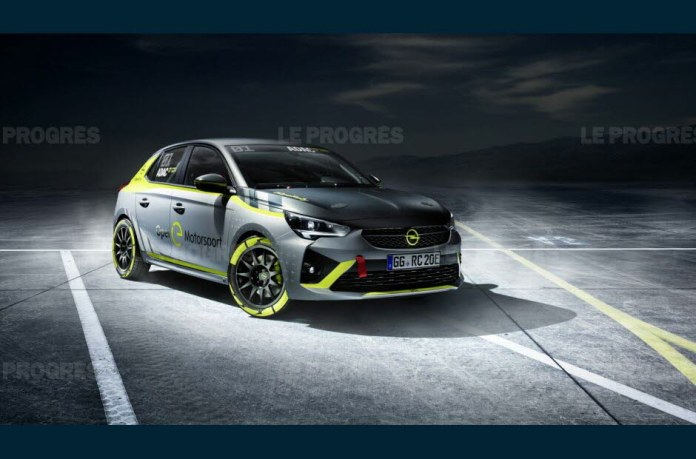 "This ""competition-client"" version planned for the ADAC e-Rallye cup 2020/2021 will be available at less than 50 000 €. Photo Opel"