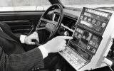 """Le """"Guide intelligent"""" breveté en 1984 par Gérard de Villeroché, ancien adjoint au commissaire à l'industrialisation de la Lorraine : l'appareil a été conçu avec l'aide notamment de laboratoires universitaires de Lorraine (Archives Le Républicain Lorrain)"""