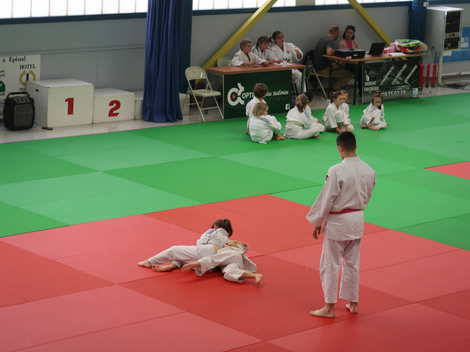 judokas veulent mettre le cancer au tapis