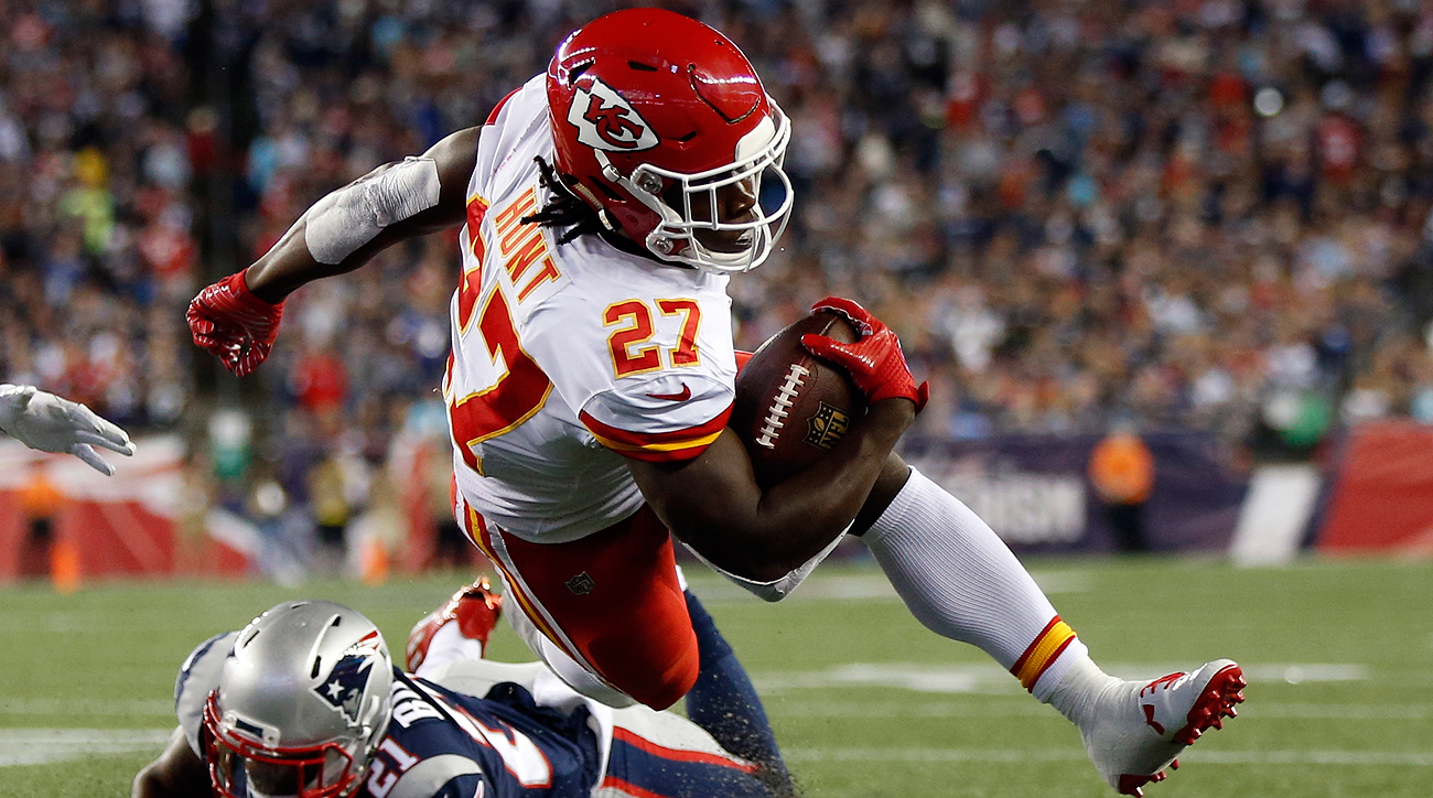 Kansas City Chiefs Kareem Hunt Si