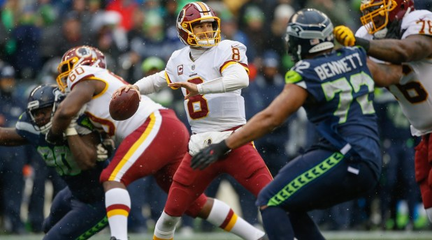 Kirk Cousins stood tall in Seattle on Sunday and helped the Redskins rally late for a 17-14 win.