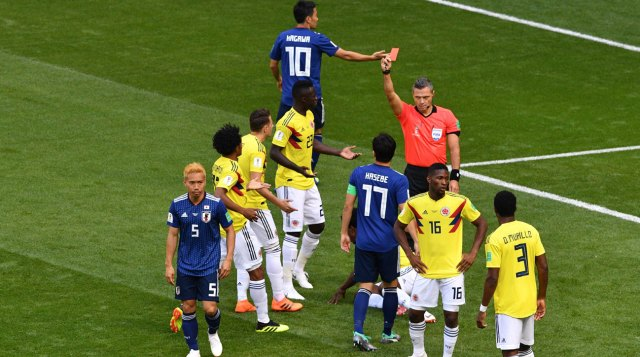 Colombia Vs Japan, FIFA World Cup 2018, Russia