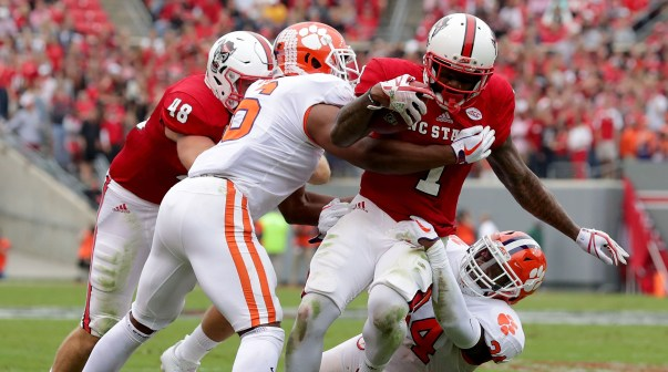 Image result for NC state clemson football