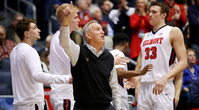 After Finally Getting First Tournament Win, Belmont and Rick Byrd Could Make March Madness Push