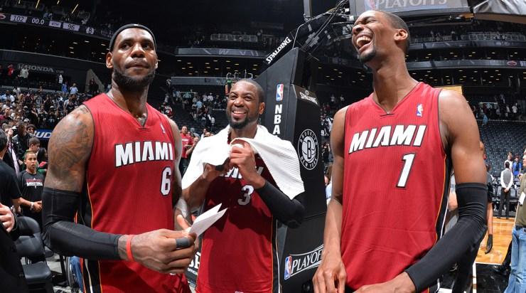 Miami Heat v Brooklyn Nets: Game Four