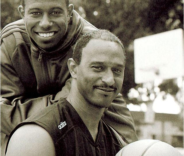 T J Ford And His Father Leo Posed For Si Two Months After T J Led