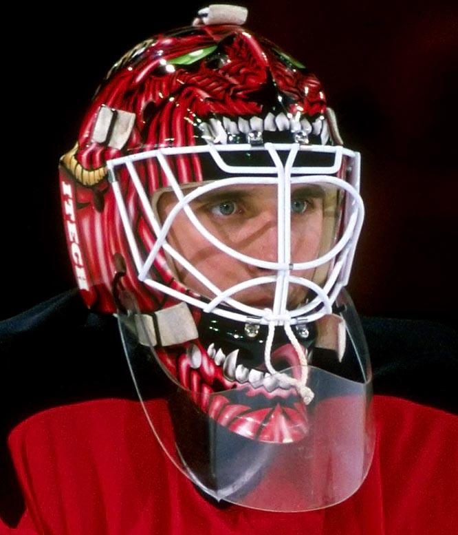 Top 10 Nhl Goalie Masks Of The 90s Si Com